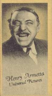 Henry Armetta Edward Arnold Universal